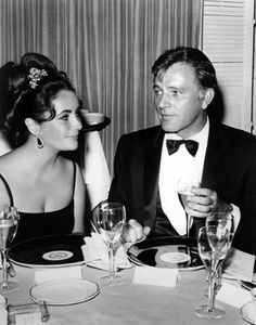 Elizabeth Taylor and Richard Burton. She tried out many men but this one rang her bell so hard it never stopped ringing.