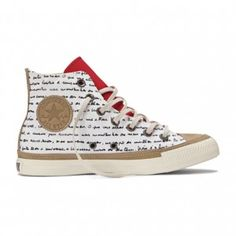 """The Oscar Niemeyer Collection  for Converse - Brazilian architect Oscar Niemeyer has created a collection of sneakers and slip-ons for American shoe company Converse, featuring a handwritten poem celebrating the """"sensual curve"""" for which his architecture is famous"""