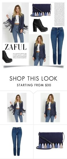 """ZAFUL"" by esma-373 ❤ liked on Polyvore featuring Oris, Topshop, Rebecca Minkoff and H&M"