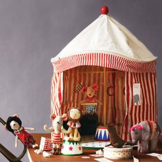 Maileg circus tent play set for kids at My Sweet Muffin #ShopSmall