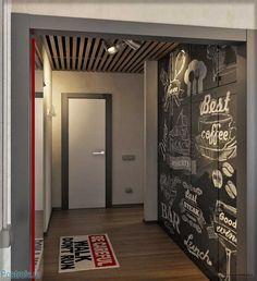 Ideas For Kitchen Room Loft Basements Farmhouse Kitchen Decor, Kitchen Interior, Modern Interior, Interior Design, Autocad, Island Pendant Lights, Backsplash For White Cabinets, Corner Seating, Rustic Chandelier