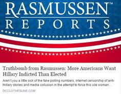 #AdlandPro http://www.dcclothesline.com/2016/10/23/truthbomb-from-rasmussen-more-americans-want-hillary-indicted-than-elected/