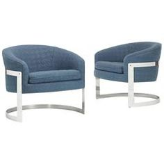 Lounge Chairs, Pair by Milo Baughman for Thayer Coggin