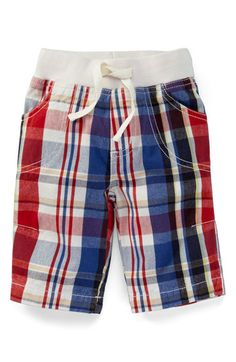 Baby Boden Plaid Pants