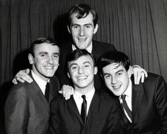 Gerry and the Pacemakers musical group in 1964 taken by a New York photographer. This appears to be their first trip to the United States, likely to appear on the ''Ed Sullivan Show''. Gerry And The Pacemakers, Most Popular Music, Walk Alone, The Dave Clark Five, George Martin, Marianne Faithfull, The Kinks, 60s Music, Roy Orbison