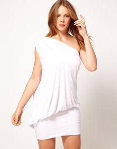 Cia Maritima One Shoulder Beach Dress