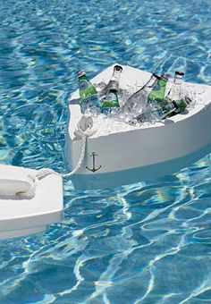 Floating cooler for my future swimming pool- absolute must! #LetsGetRich #DreamHome