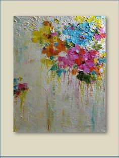 Hey, I found this really awesome Etsy listing at https://www.etsy.com/listing/173013207/original-oil-painting-spring-time-modern