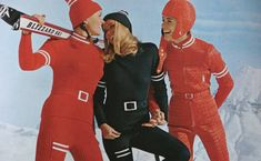 History of Ski Part two | shrimptoncouture.com | 1970s Vintage Anba Skiwear