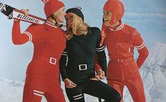 History of Ski Part two   shrimptoncouture.com   1970s Vintage Anba Skiwear