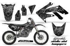 Honda Graphic Kits - Honda MX Decals and Stickers for dirt bikes crf cr cr crf crf xr cr Honda Dirt Bike, Dirt Biking, Ed Hardy Designs, New Dirt Bikes, Motorcycle Decals, Dirtbikes, Motocross, Racing, Kit