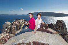 Kathrin & Markos - GRIECHENLAND - Santorin - Als ortskundige deutschsprachige Guides zeigen Sie Euch die schönsten Plätze der Insel