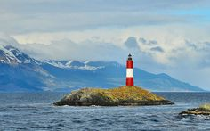 Lighthouse 'Les Eclaireurs' in the Beagle Channel – Argentina by blue_carillon, via Flickr