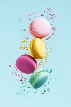 Macaron Wallpaper, Pastel Wallpaper, Galaxy Wallpaper, Wallpaper Backgrounds, Aesthetic Iphone Wallpaper, Aesthetic Wallpapers, Cute Food Wallpaper, Kreative Desserts, Natural Food Coloring