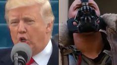 Trump vs Bane - The Inauguration Speech