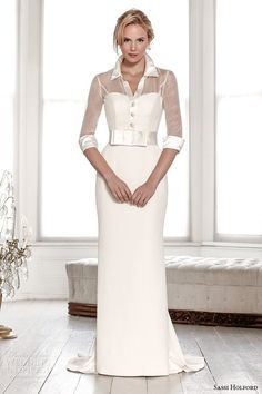 Wedding seperates, veils, jackets and belts to accentuate a wedding dress. Discover wedding dress accessories that will harmonise with your bridal gown. 2015 Wedding Dresses, Elegant Wedding Dress, Bridal Dresses, Bridesmaid Dresses, Wedding Robe, Modest Wedding, Wedding 2015, Boho Wedding, Dream Wedding