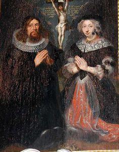 Christen Jensen Thorsager, præst f. 1638 d. 1695 Hustru Marie Michelsdatter Housing f. 1647 d. 1687 Århus stift 1680-89