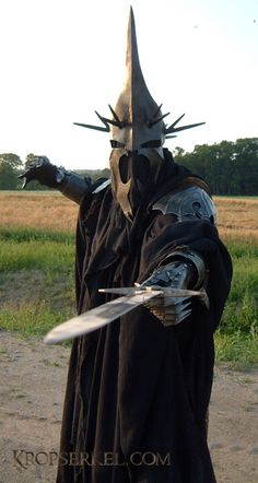 Nazgul cosplay from Lord of the Rings