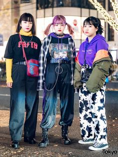 Japanese Streetwear Styles w/ Faith Tokyo, Bubbles Harajuku, Kinji, 7% More Pink & Never Mind the XU