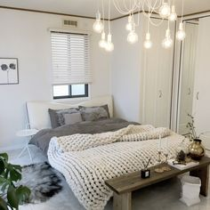O_r& whole room, Nitori, monotone, white intelli . Room Interior, Interior Design, Minimalist Room, Grey Room, Bedroom Layouts, Fashion Room, Small Rooms, House Rooms, Room Inspiration