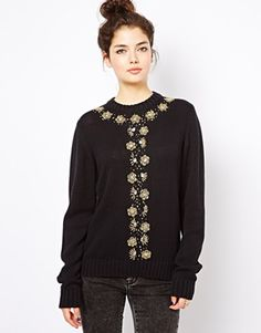 Virgos Lounge Niya Embellished Jumper