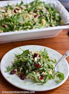 Orzo Arugula salad