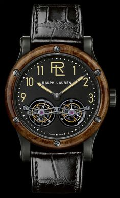 Read about it: http://www.ablogtowatch.com/ralph-lauren-rl-automotive-tourbillon-double-tourbillon-watches/ #sihhabtw