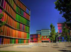 MUSAC, León (Castilla y León) Arquitectos Mansilla y Tuñon; premio Mies van der Rohe de arquitecxtura 2007