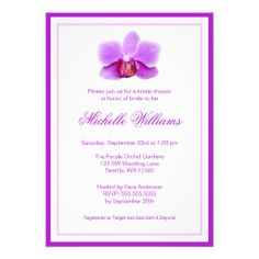 ==>>Big Save on          	Elegant Purple Orchid Bridal Shower Invites           	Elegant Purple Orchid Bridal Shower Invites lowest price for you. In addition you can compare price with another store and read helpful reviews. BuyDiscount Deals          	Elegant Purple Orchid Bridal Shower Invi...Cleck Hot Deals >>> http://www.zazzle.com/elegant_purple_orchid_bridal_shower_invites-161798830316228562?rf=238627982471231924&zbar=1&tc=terrest