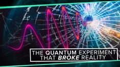 PBS Space Time host Matt O'Dowd took a close look at the double-slit experiment and how it changed the view of reality. The experiment fires individual photons, electrons, or other particles at a s… Pbs Space Time, Double Slit Experiment, Wave Function, Geometry Practice, Faster Than Light, Quantum Mechanics, Quantum Physics, Dark Matter, Spirituality