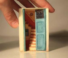 Crafts for kids with matchboxes - 150 and more projects. Delightful. I want to make stocking stuffer matchbox dioramas.