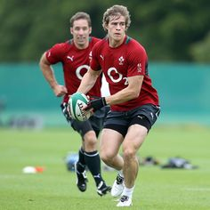 Andrew Trimble training at Carton House