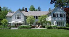 Landscape design by Robin Kramer Garden Design Landscape Design, Garden Design, House Design, Outdoor Rooms, Outdoor Living, Backyard Patio, Flagstone Patio, Backyard Landscaping, White Houses