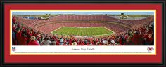 This Kansas City Chiefs Panoramic - Arrowhead Stadium was taken by Blakeway Worldwide Panoramas and is available in many different formats!