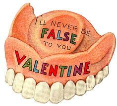 dental valentines day card