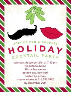 Get your invites for the Holidays out now! #holidayparty #invitations