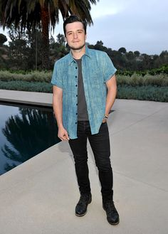 Josh Hutcherson Attends The Launch Of Studio 189 For Yoox.com Collection At  A Private