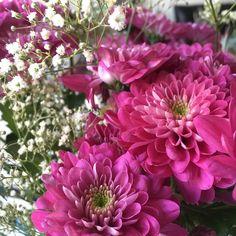 Mon'day  #flowers #kukkakimppu #instaflower #kukkia #krysanteemi #harsokukka #monday #maanantai