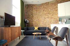 Living Room, Hop Art House Serviced Apartments, Southwark, London