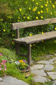 That bench is a cheap dyi. With the tree we are cutting down, should be easy to to.