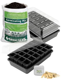 Complete Seed Starting Kit: GrowEase Seed Starter Success Kit