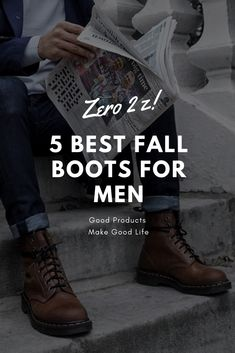 FasHionHuNt: 5 Boots you need in this Fall Men Boots, Fall Boots, Fall Outfits, Casual Outfits, Get A Girlfriend, Stylish Men, Men Fashion, All Black Sneakers, Life Is Good