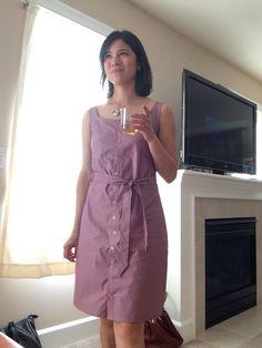 Day 1 #MMMay16: Adelaide Dress from Seamwork Magazine