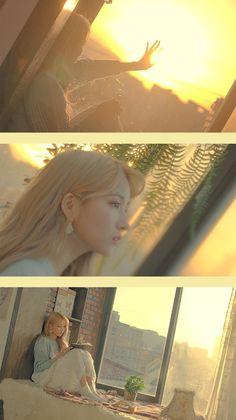 Gfriend-Sowon #Sunrise #Time_for_us Girlfriend Kpop, Sunrise Wallpaper, Gfriend Sowon, Cloud Dancer, Wattpad, G Friend, Girl Bands, Phone Backgrounds, Nayeon
