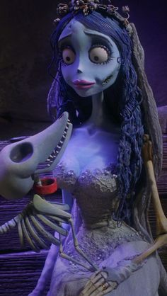 † EMILY AND SCRAPS † THE CORPSE BRIDE †