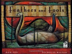 An excellent & essential book about war & peace. Feathers and Fools by Mem Fox http://www.amazon.com/dp/0152023658/ref=cm_sw_r_pi_dp_rELyub0VRR6M1
