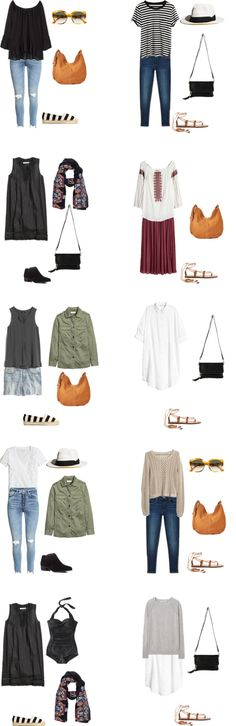 What to Wear in Spain and Italy Outfit Options 21-30 #travellight #packinglight…