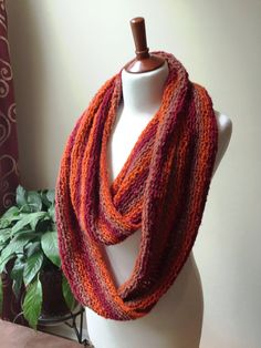 Soft Infinity Scarf - Great fall colors and very cozy.