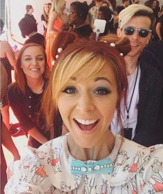 Lindsey Stirling at the music awards / Disney channel