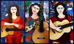 Tribute to Violeta Parra by Madalena Lobao-Tello